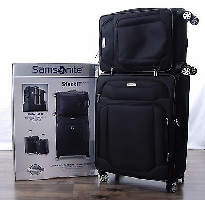 Samsonite StackIT 2-pc Softside Spinner Suitcase Set 21