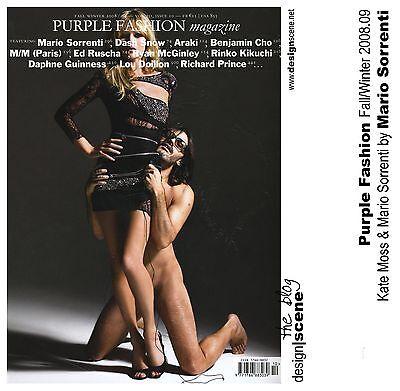 Purple Fashion 12,Kate Moss,Mario Sorrenti,Richard Prince,Daphne Guinness,Araki