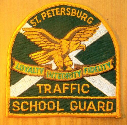 GEMSCO NOS Vintage Patch POLICE SCHOOL GUARD ST. PETERSBURG FL - 40+ year old