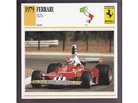 Clay Regazzoni Orig Sammelbild 1972 Formule 1 pilote