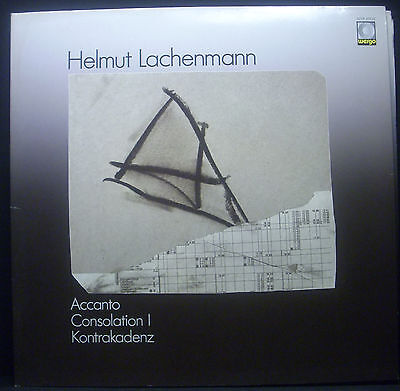 LP HELMUT LACHENMANN - accanto, consolation I, kontrakadenz, FOC