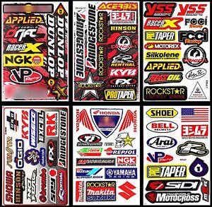 Yoshimura-Rockstar-Energy-Stickers-Motocross-Racing-Sponsor-Logo-Helmet-Decals