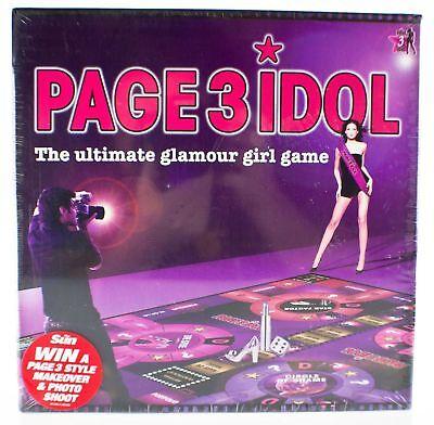 Page 3 Idol Brettspiel 6 Spieler Ultimative Glamour Mädchen Spiel für
