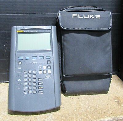 Tested Working Fluke 683 Enterprise Ethernet Networking Lanmeter Cable Tester