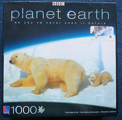 Jigsaw Puzzle 1000 Pc Planet Earth Pole To Pole Polar Bears In The Glaciers