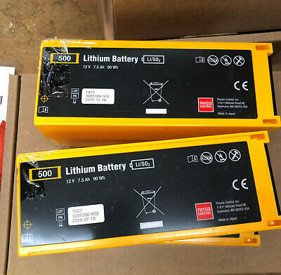 Physio Control Lifepak 500 Medical Battery Pn 3005380-902 Used Priced Each