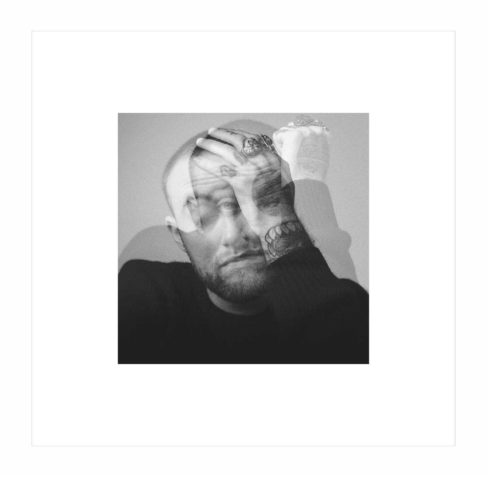 "Mac Miller Swimming Art Poster 36x24/"" 21x14/"" Album Cover Music CD Print Silk"