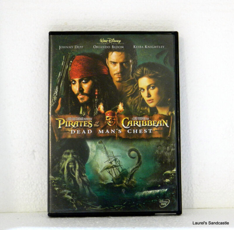 PIRATES OF THE CARIBBEAN Dead Man's Chest  DVD 2006 Widescreen