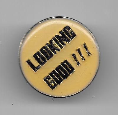 Vintage LOOKING GOOD!!! old enamel pin