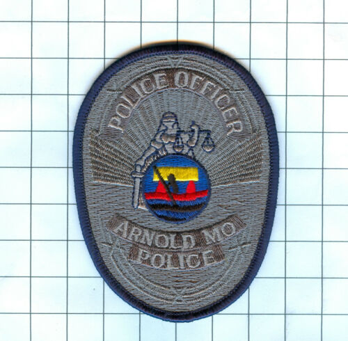 Police Patch  - Missouri - Police Officer Arnold MO