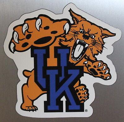 University of Kentucky Wildcats Team Magnet Football Logo NCAA College Car -