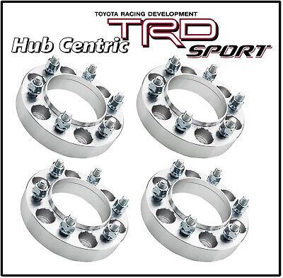 "4Pc 1.25"" 6x5.5 12x1.5 Hub Centric Wheel Spacers fits Toyota Tundra 2000 - 2006"