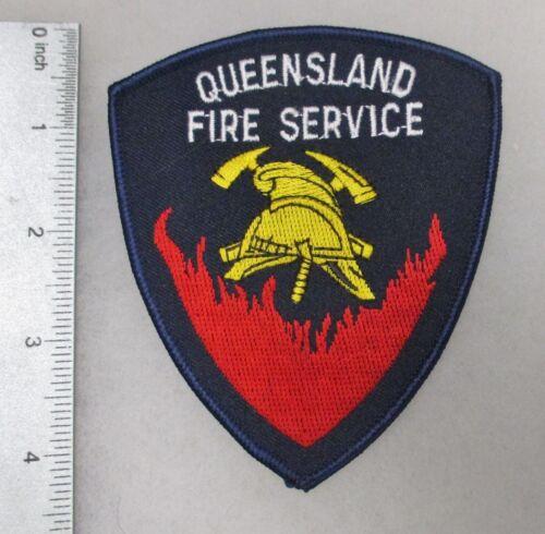1990s Vintage AUSTRALIAN PATCH QUEENSLAND AUSTRALIA FIRE SERVICE