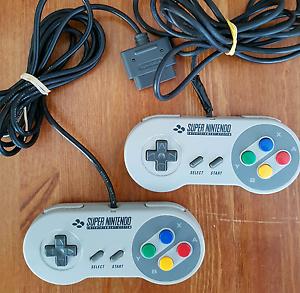SNES Original Super Nintendo Controllers Kogarah Rockdale Area Preview