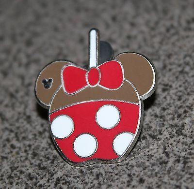 DISNEY PIN MINNIE MOUSE CANDY APPLE CHARACTER APPLES 2015 HIDDEN MICKEY