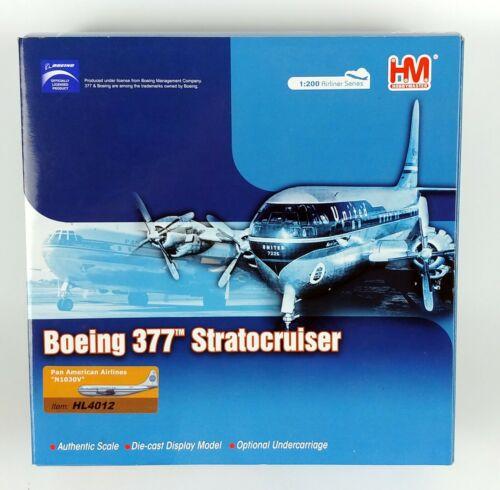 HM Hobbymasters Pan Am Airways Boeing 377 Stratocruiser Diecast Model 1:200
