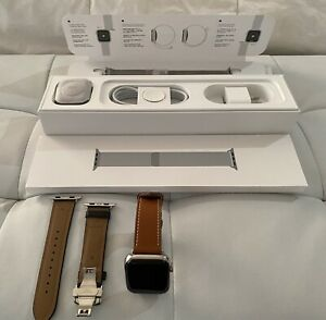 Apple Watch 5 44mm Stainless Steel GPS Cell Milanese Loop   Bands Maida Vale Kalamunda Area Preview