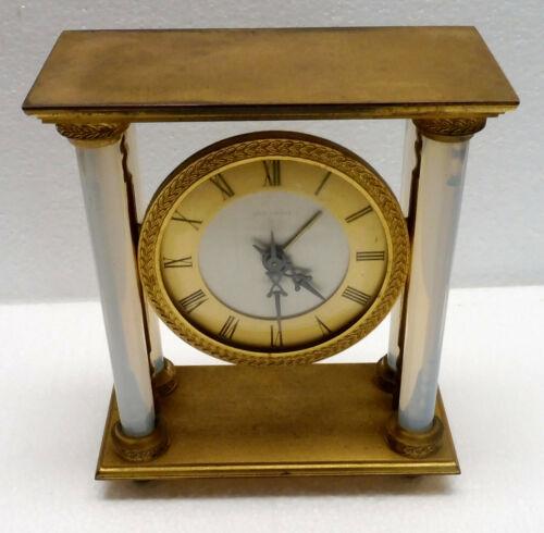 Beautiful Clock Alarm Clock HOUR LAVIGNE Mechanical Glass Opalescent Working