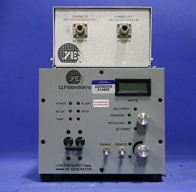 1 Used Comdel Clf500 Low Frequency Rf Generator