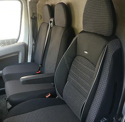 Sitzbezüge Schonbezüge Mercedes-Benz Sprinter W906 Fahrersitz und Bank