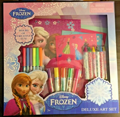 Disney Frozen Deluxe Art Set 2017 23 Pieces (BRAND NEW)