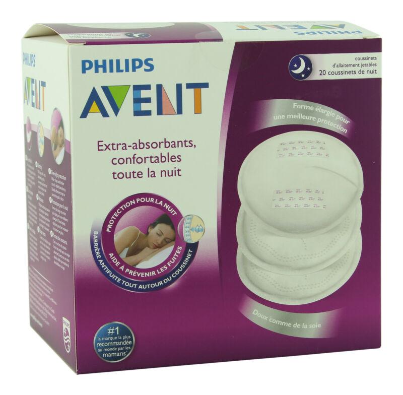 Philips Avent Night Breast Pads 20 Ct. Nursing Pad