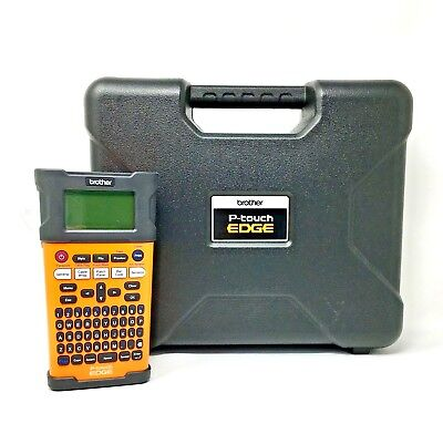 New Brotherpte300 International P-touch Edge Industrial Label Maker