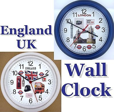 ENGLAND Wall Clock UK Great Britain London United Kingdom Manchester Midlands