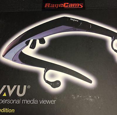 Myvu 301 Solo Plus Videobrille LCD FPV für Xbox Playstation Kabel Tv DVD Wii