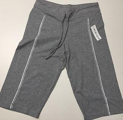 Ladies Active wear Yoga Cotton Spandex Capri Athletic Bermuda Sizes S-M-L-XL NWT