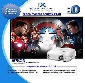 EPSON HOME THEATRE SMART PACK - $2199 Perth Perth City Area Preview