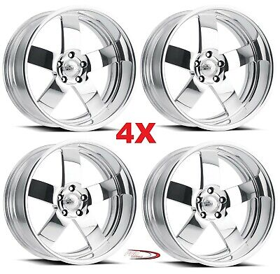 24 PRO WHEELS RIMS MAGG FORGED BILLET POLISHED ALUMINUM US SPECIALTIES (Rose Gold Rims)