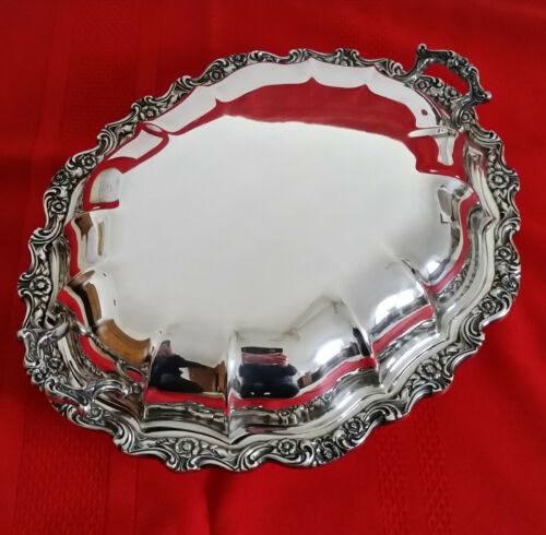 International Silver Co. Countess Silverplate Oval Lidded Casserole Serving Dish