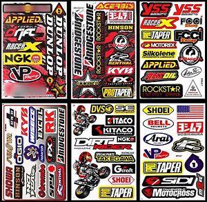 Racing-Helmet-RC-Toy-Bike-Tool-Box-Stickers-Motorcycle-Skateboard-Bike-Decals