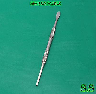 Spatula Packer Dermatology Podiatry Surgical Instrument