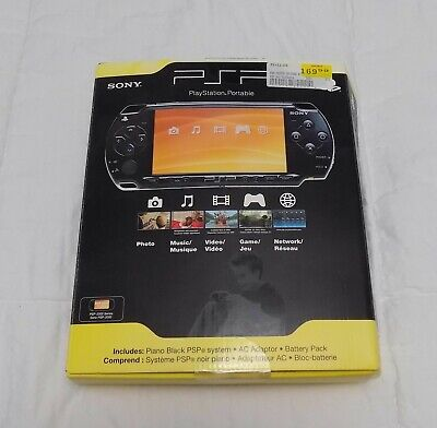 PlayStation Portable PSP- 2001PB System Piano Black MINT In Box