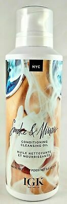 IGK Smoke & Mirrors - Conditioning Cleansing Oil - 5 oz AUTHENTIC NEW