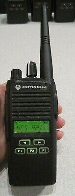 Motorola Cp185 Two Way Radio Uhf 435-480mhz 16 Ch 4watt Aah03rdf8aa7an Wbattery