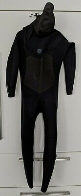 O'Neill Wetsuit size L , Front zip 5/4 Hooded Carbon Firewall Seal Taped