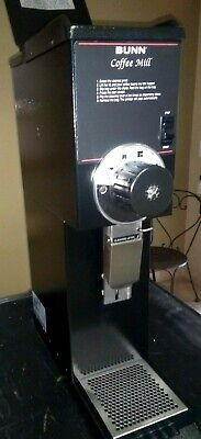 Sale Price Bunn G3 Hd Black Commercial 3 Lb Coffee Grinder Sanitized 0562