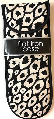 Flat Iron & Whisker Styling Case ~Sheffield Home Designer Style ~ New~Free Shipping