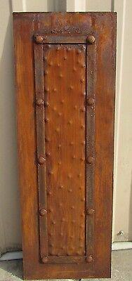 Rustic Iron Hammered Metal Panels-12x34-Handmade-Rust Finish-Furniture -
