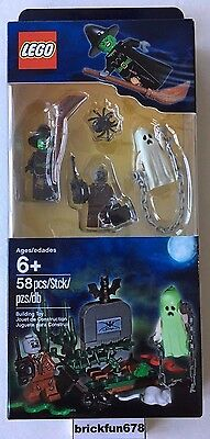 Halloween Lego Set (LEGO 850487 Halloween Accessory Set Monster Ghost Witch Zombie New Sealed)