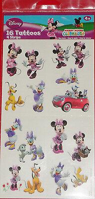 Minnie Mouse Tattoos (@** DISNEY MINNIE MOUSE  & FRIENDS TEMPORARY TATTOOS**@ BRAND NEW!!)
