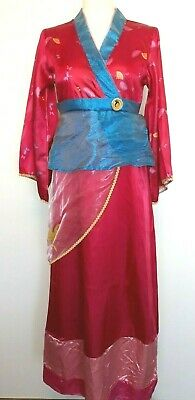 Mulan Costume Adults (DISNEY STORE ADULT MULAN COSTUME SIZE SMALL S  XS YOUTH CUSTOM)