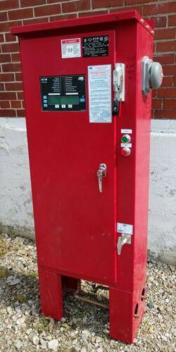Eaton Cutler Hammer LMR Plus 30 HP 480 V Electric Fire Pump Controller Cabinet