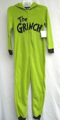Used, THE GRINCH..DR. SEUSS..ONE PIECE PAJAMAS..UNION SUIT..w HOOD..NEW..sz WOMEN XL for sale  Sacramento