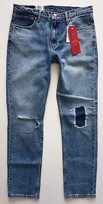 For sale Levi's Levis Nwt Mens 511 Slim Fit Sublime Rhythm 045112384 Repaired Jeans