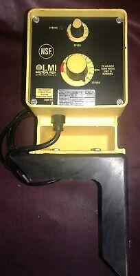 Lmi Milton Roy B131-74 Electromagnetic Dosing Pump Wmounting Bracket. Our 1.