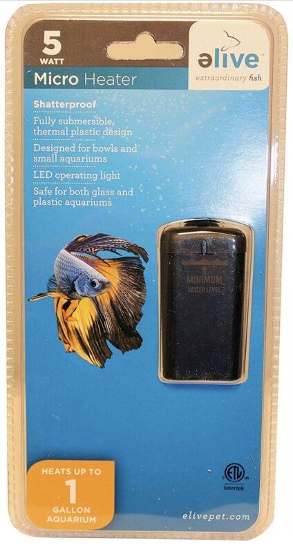 Elive Micro Heater 5 watt  Heats Up to 1 Gallon